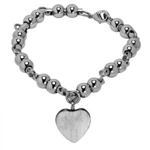 Cremains Vessel Silver Bead Bracelet Jewelry