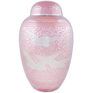 OKC Pink Going Home urn